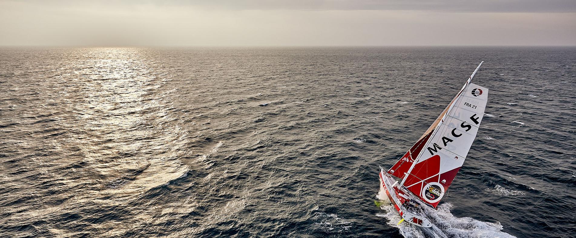 En 2016, la MACSF a pris part au Vendée Globe. Une aventure humaine incroyable, avec le skipper Bertrand de Broc soutenu par des milliers de professionnels de santé.