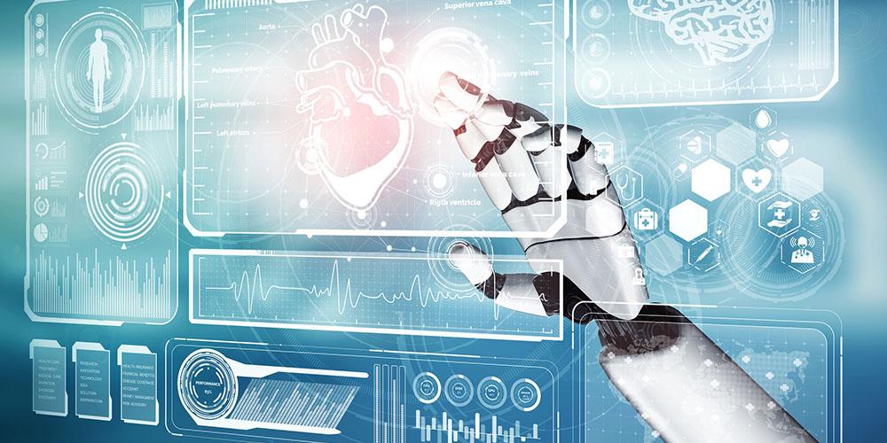 Représentation de plusieurs formes d'IA en santé