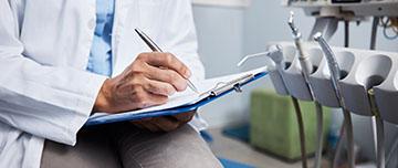 chirurgien-dentiste complète dossier médical