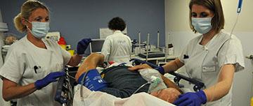 Médecine d'urgence à l'hôpital