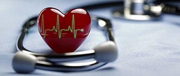 Image d'un stéthoscope en cardiologie