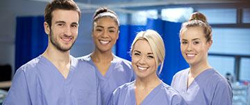 infirmiers à l'hopital