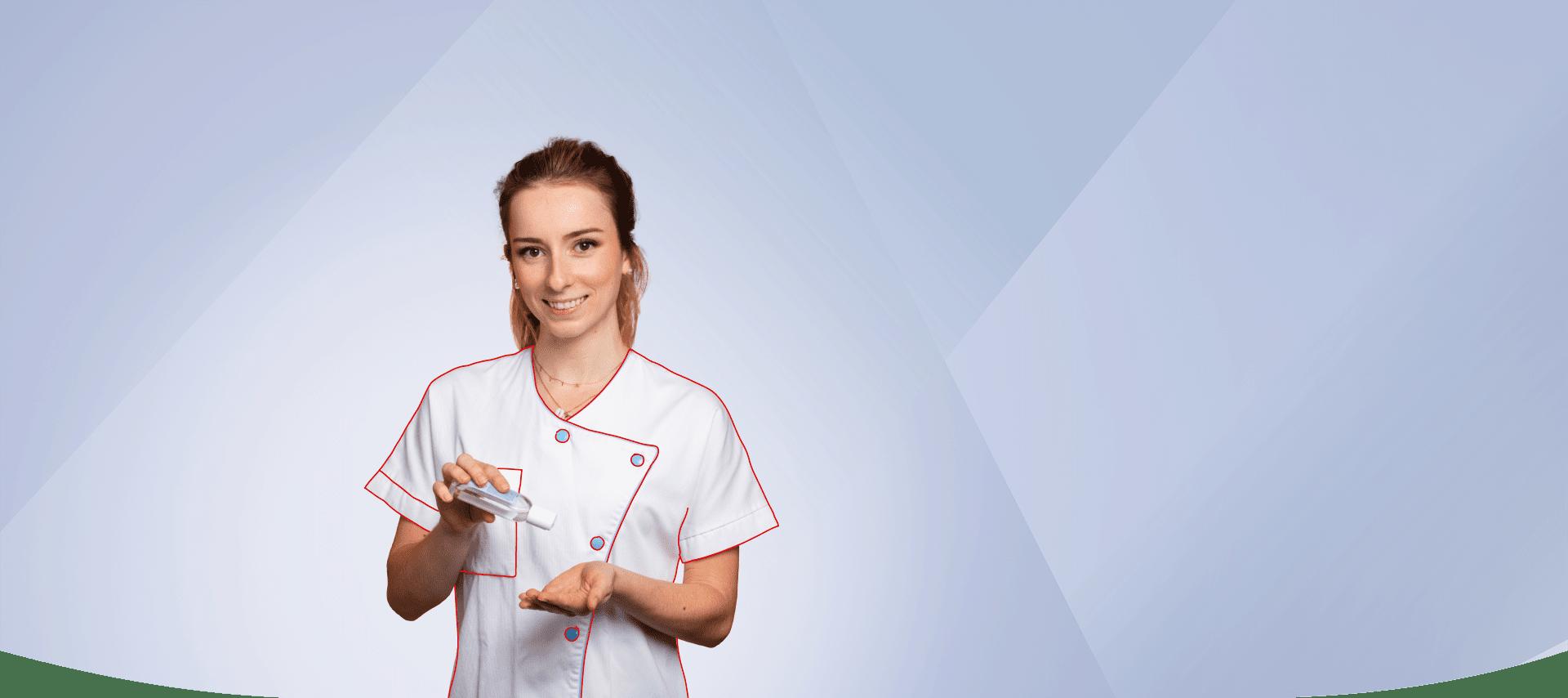 Mélissa infirmière 2020