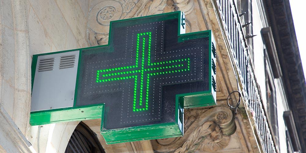 Pharmacie proposant la téléconsultation