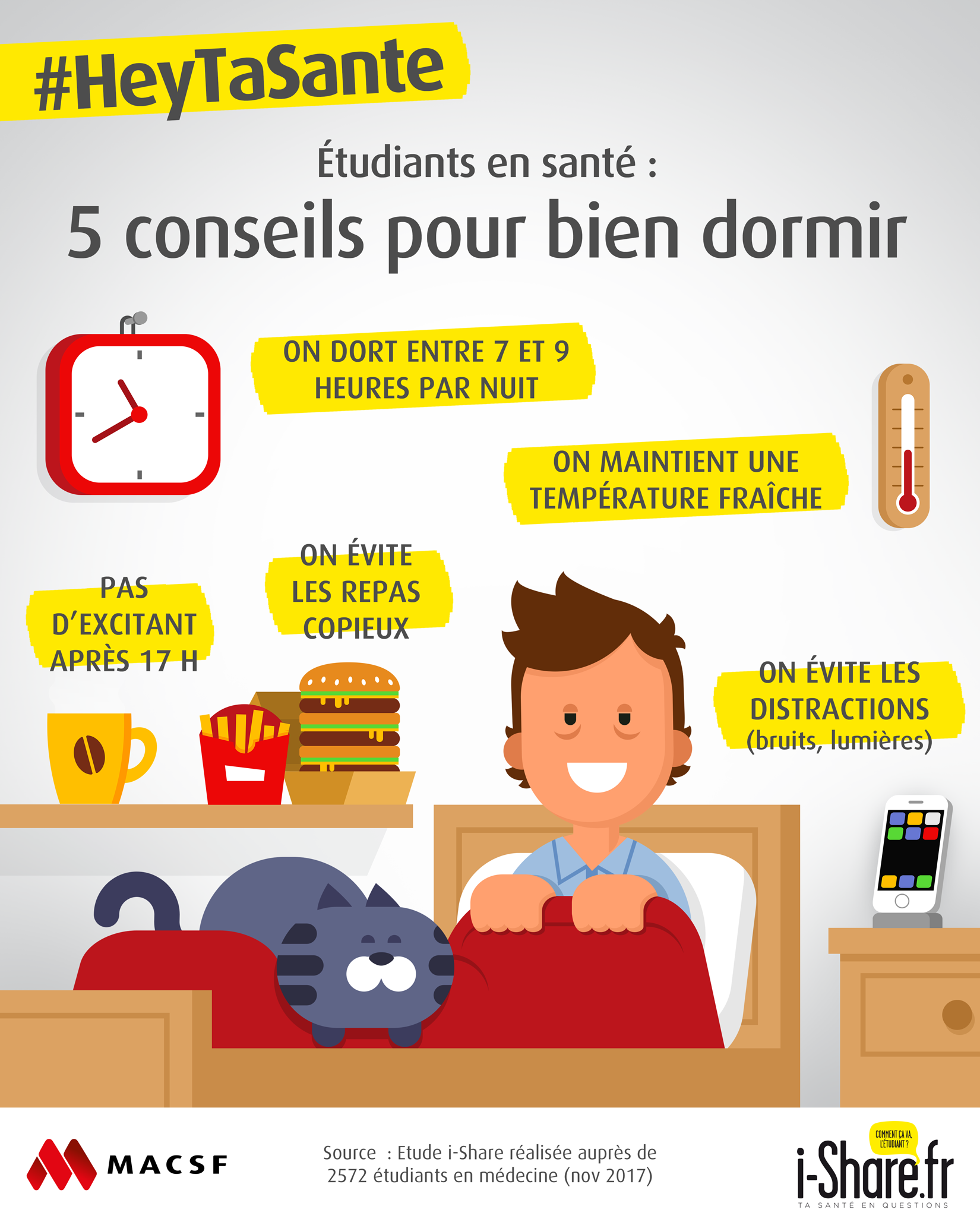 5 conseils pour bien dormir. Black Bedroom Furniture Sets. Home Design Ideas