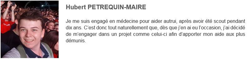 Hubert PETREQUIN-MAIRE - Solidarité Reims Madagascar 2019