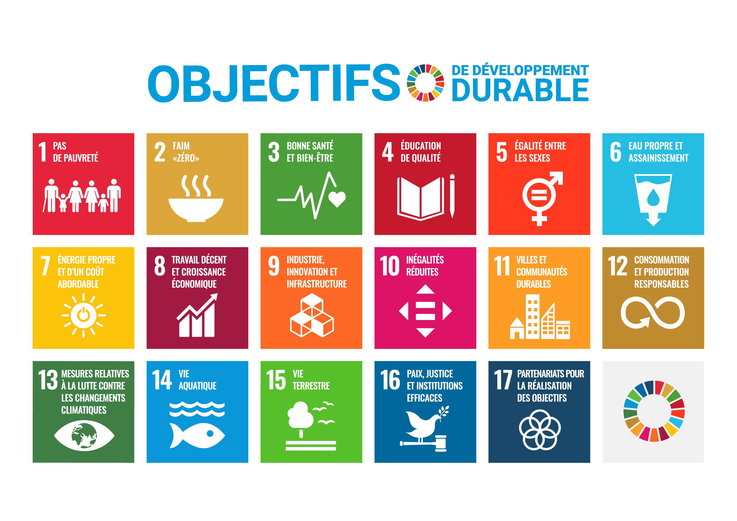 Objectifs développement durable (ODD)