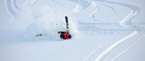 skieuse amateur