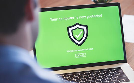Les cyberattaques sont neutralisées par les antivirus et les pare-feu