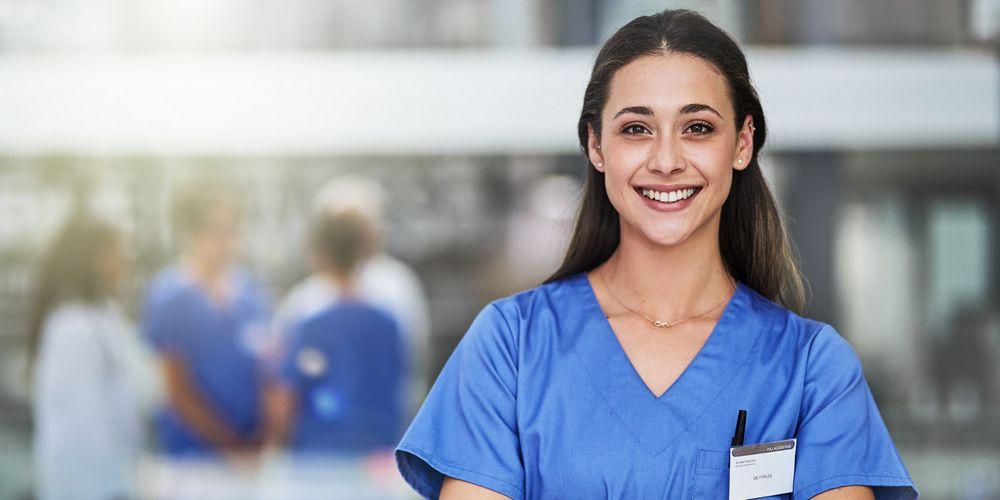 Jeune interne en médecine en bonne santé