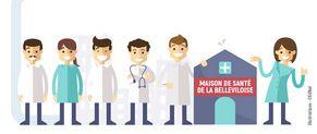 Créer une maison de santé pluriprofessionnelle.