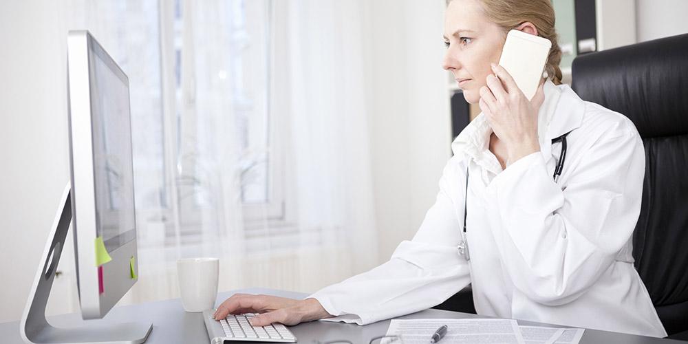 Professionnel de santé, Publicité, Interdiction de publicité, Médecin téléphone