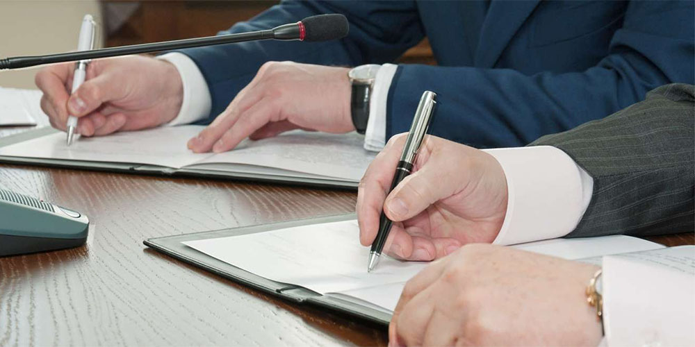 Charte signature