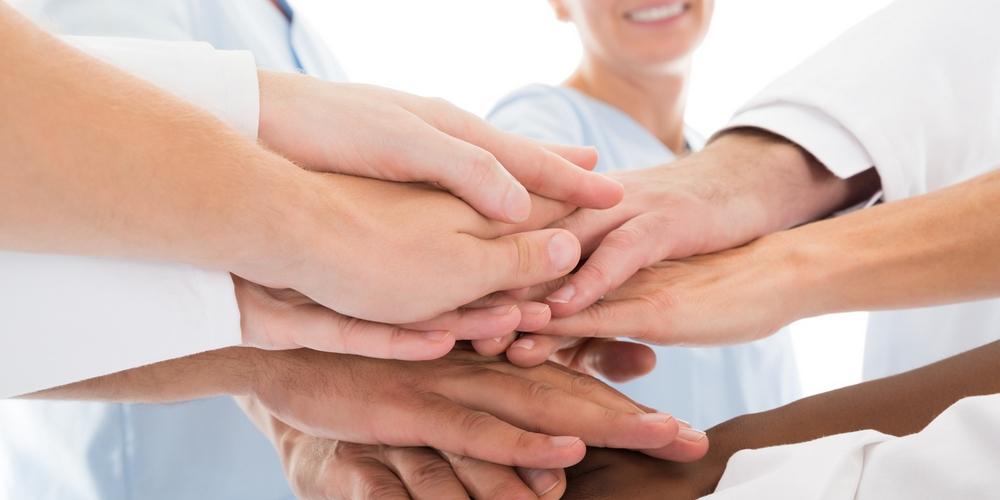 Des professionnels de santé mobilisés autour d'un projet.