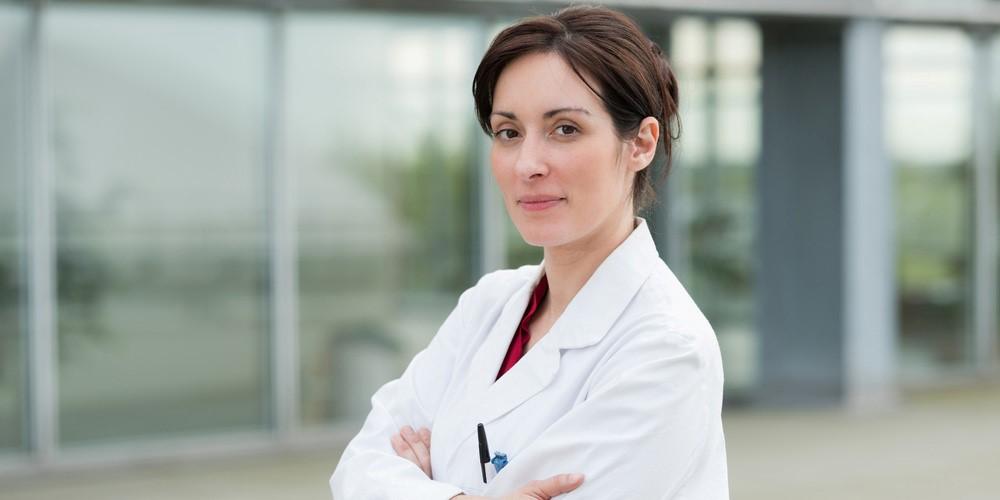 une professionnelle de santé installée dans une MSP.