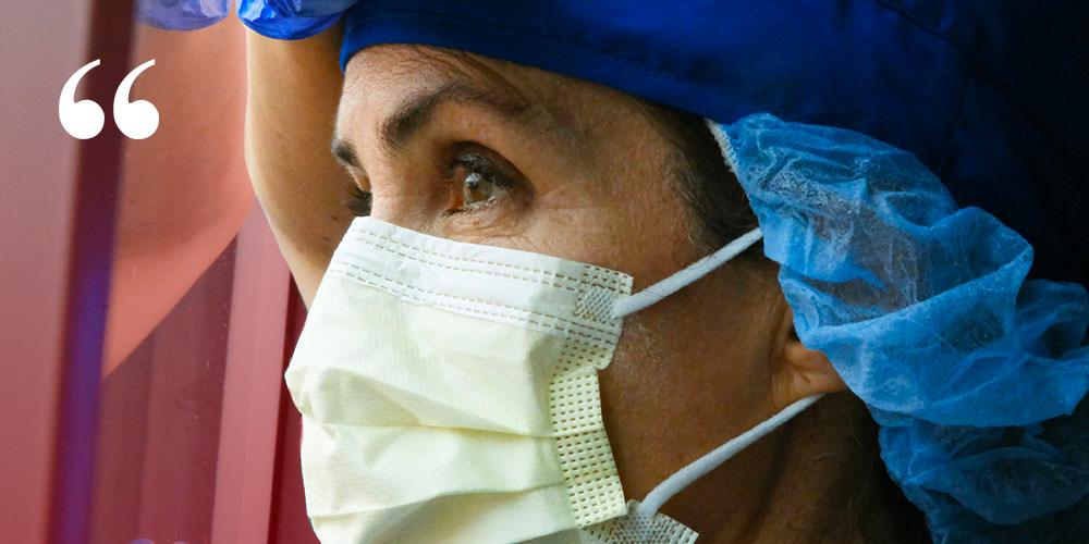 Covid 19 : témoignage d'une infirmière sur le terrain