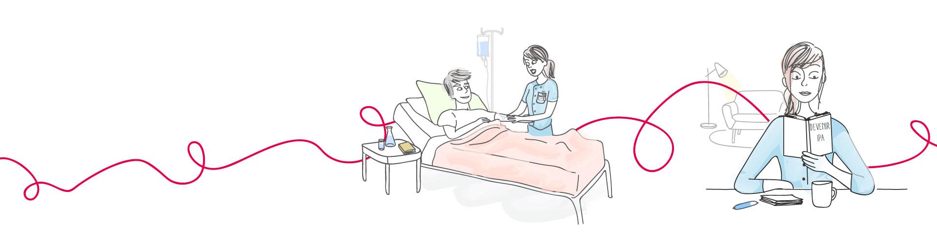 Être infirmière à l'hôpital