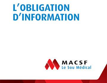 Livre blanc obligation d'information