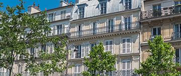 Nouvelle façade parisienne