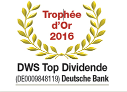 Trophée d'Or 2016 DWS Top Dividende