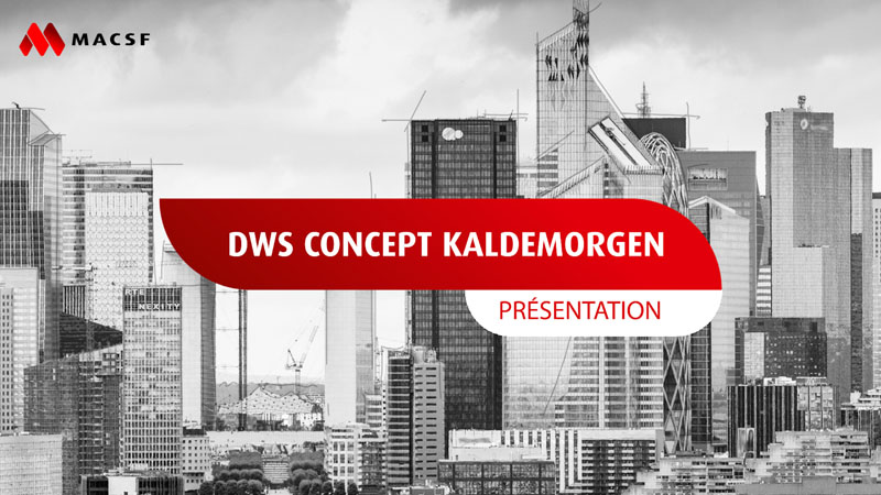 DWS Concept Kaldemorgen Présentation MACSF