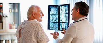 Chute de patient en cabinet de radiologie