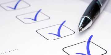 Check-list sur la sécurité du patient au bloc opératoire