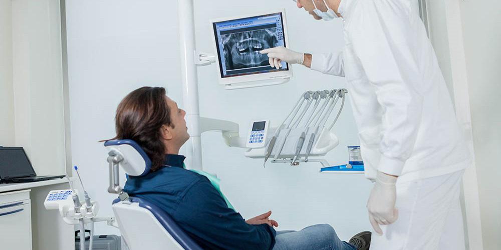 dentiste et patient
